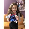 Sophia's super sewing!