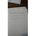 Ella's super sentences using adverbs.