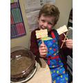 Fantastic labels for your seeds Oliver!
