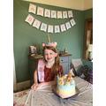 Grace celebrated her birthday.