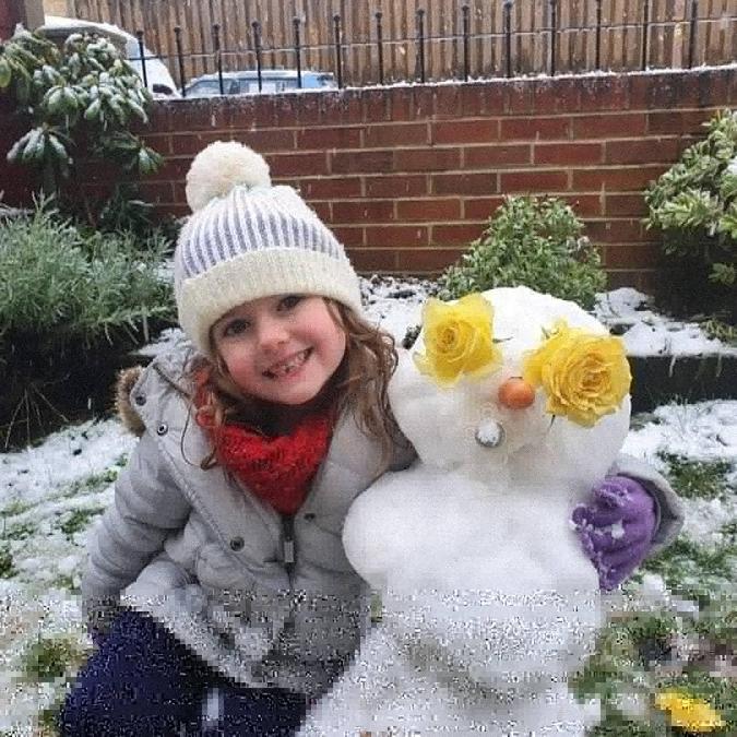 Annie's Snowman!