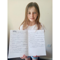 Mollie has learnt about conjunctions