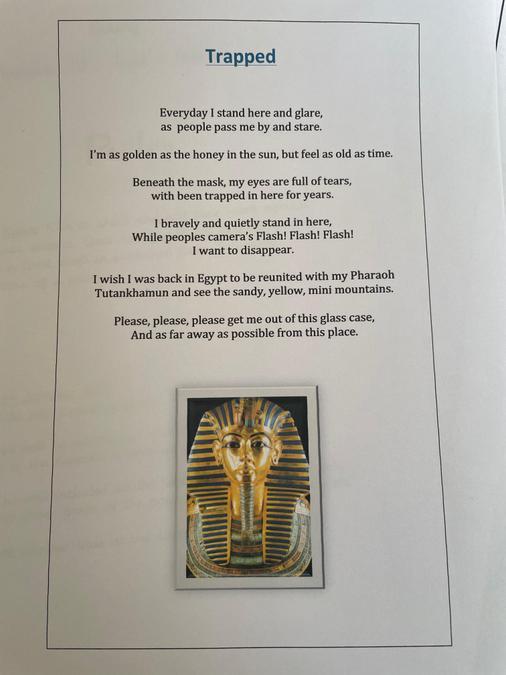 Josh's wonderfully presented poem!