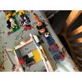 Harry's lego construction.