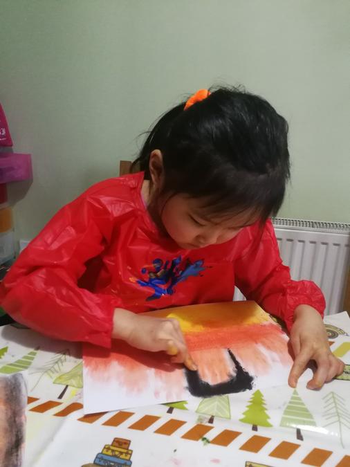 Artist at work!