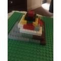 Max's Lego pyramid.