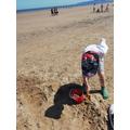 ... building sandcastles ...