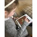 Evelyn has been teaching Mum phonics!
