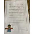 Harrison's scarecrow description.