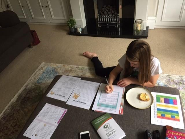 What a well organised and productive learning enviroment Elizabeth!
