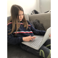 Lily has been working hard on Mathletics.