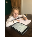 Super work Lily - keep it up!