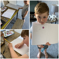 Great measuring skills and spelling from Harrison.
