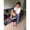 Elizabeth organised a family treasure hunt!