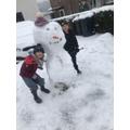 What a jolly snowman!
