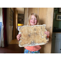 Grace's finished treasure map- wow!