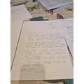 Matthew's super letter to Joe Wicks.