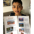Kaiyan's Grand Canyon leaflet.