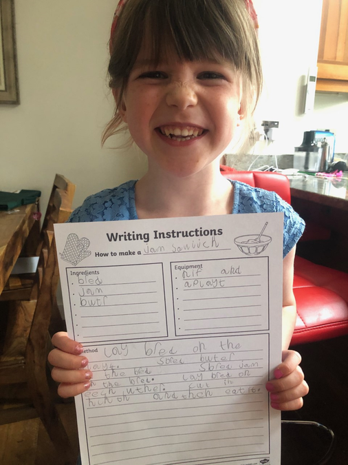 Grace' incredible instructions