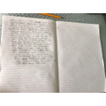 Alex had written an adventure story- great!