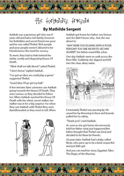 Mathilde's amazing adventure story!