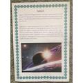 Kaiyan's Saturn fact file