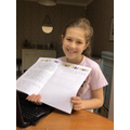 Sophia's brilliant persuasive leaflet!