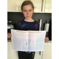 Ellie's Grand Canyon persuasive leaflet.