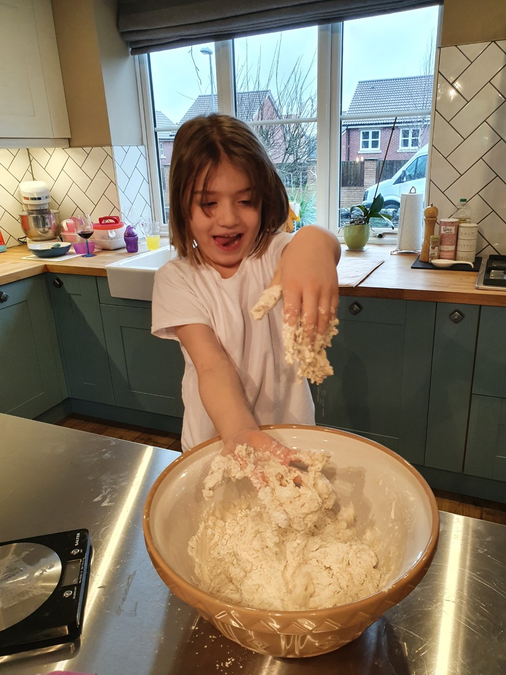 Eva's sticky bread!