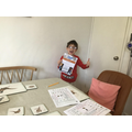Alex was very proud of his Mathletics certificate!