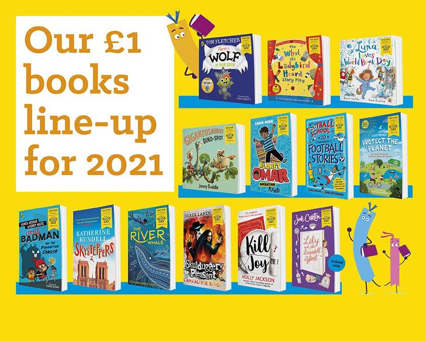 This year's £1 World Book Day books - which one will you get?