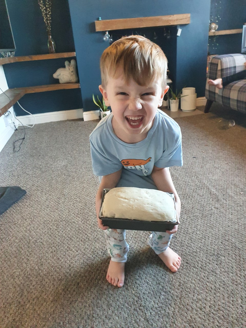 That's a big loaf!