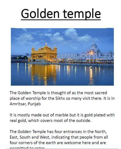 Great Golden Temple work Isabelle