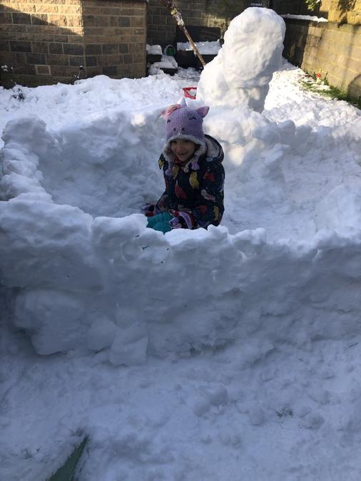 Building an Igloo!