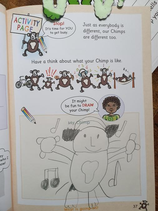 Eva's Hidden Chimp work!