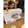 Super sewing skills...