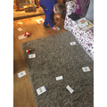 Oliver D made up a great phonics matching game.