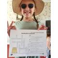 Eadie and her summery SPaG crossword.