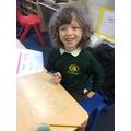 Euan's enjoying Maths