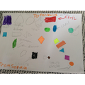 Sophia has completed some super shape work.
