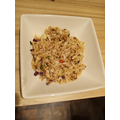 Imogen has been cooking. Look at her fried rice!