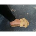 Hazel's Ancient Greek sandal