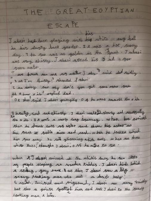 Jaidan's incredible adventure story! Part 1...
