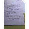 Thea wrote a super letter to Ariana Grande.