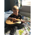Dylan has been learning guitar.