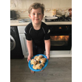 Leo has been baking tasty treats!