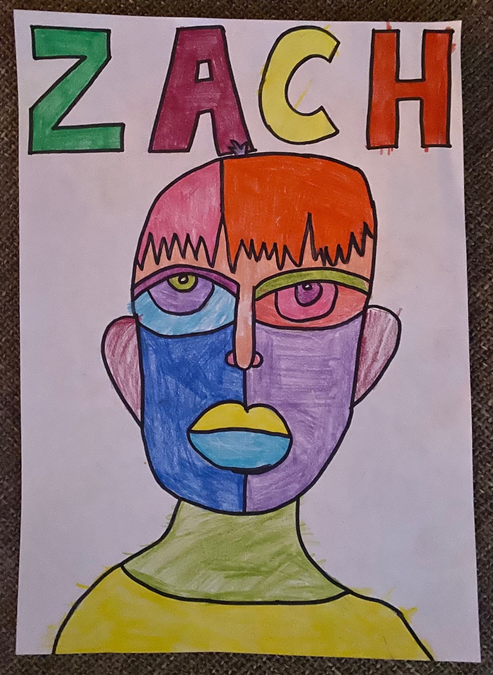 Fantastic abstract artwork Zach!