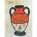 Florrie's lovely Greek Vase.
