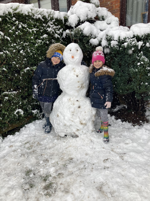 Max and Layla's Olaf