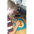 Sam has been cooking!